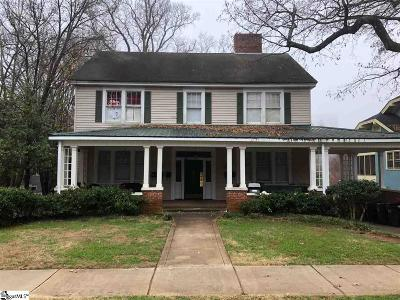 Greenville Multi Family Home Contingency Contract: 218 E Park