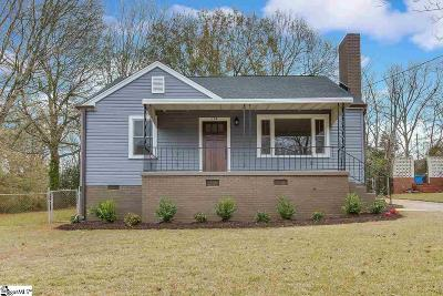 Greenville SC Single Family Home Contingency Contract: $309,900