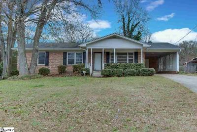 Greenville SC Single Family Home For Sale: $105,000