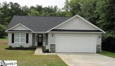 Travelers Rest Single Family Home Contingency Contract: 226 Crown #Lot 15