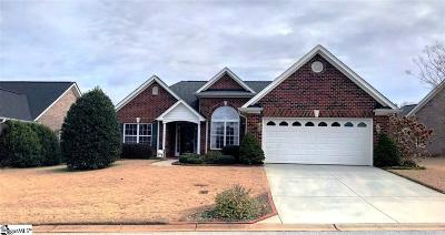 Greenville County Single Family Home For Sale: 109 Glenaire