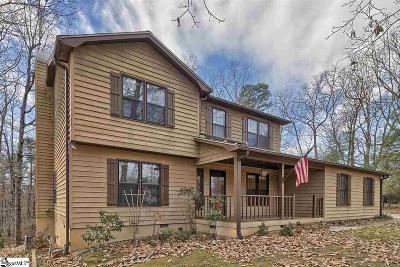 Greenville County Single Family Home Contingency Contract: 5 Overlook