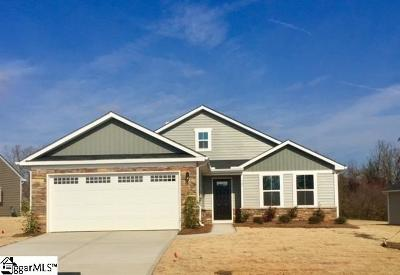 Greenville County Single Family Home For Sale: 107 Fairmeadow