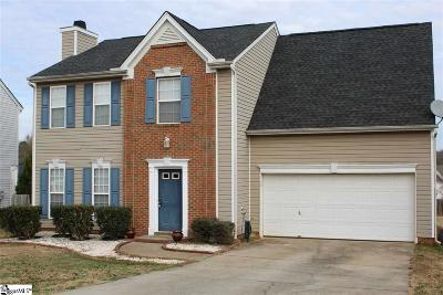 Simpsonville Single Family Home For Sale: 608 Fairview Lake