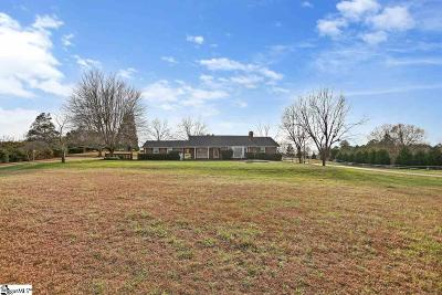 Pelzer Single Family Home For Sale: 200 Holland Ford