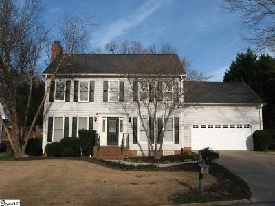 Greenville County Single Family Home Contingency Contract: 307 Deepwood