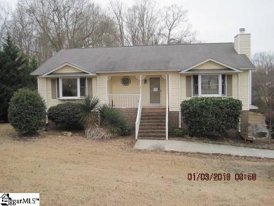 Boiling Springs Single Family Home For Sale: 134 Moss