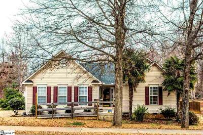 Fountain Inn Single Family Home Contingency Contract: 100 Trident Maple