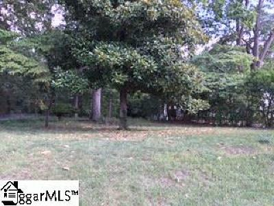 Spartanburg Residential Lots & Land For Sale: Ponce De Leon