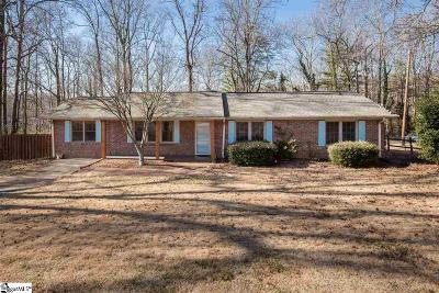 Greenville County Single Family Home For Sale: 203 Wakewood