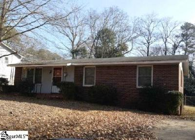 Spartanburg Single Family Home For Sale: 114 Carolyn