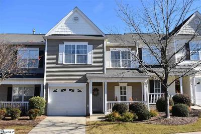 Greenville County Condo/Townhouse For Sale: 103 Pine Walk