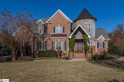 Simpsonville Single Family Home For Sale: 16 Appian