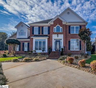 Simpsonville Single Family Home For Sale: 7 Dunrobin
