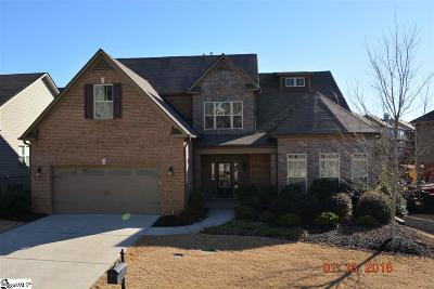 Greenville Single Family Home For Sale: 331 Abby