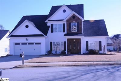 Simpsonville Single Family Home For Sale: 300 Tulip Tree