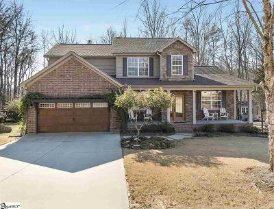 Greer Single Family Home For Sale: 509 Mellow