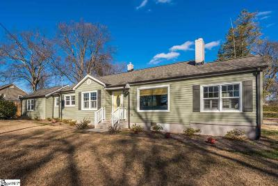 Greenville Single Family Home Contingency Contract: 13 Celand