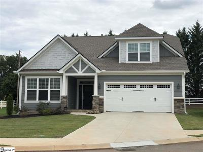 Greenville Single Family Home For Sale: 1 Rocky Meadow
