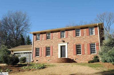 Greer Single Family Home For Sale: 100 Peachtree