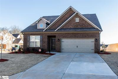 Greenville County Single Family Home For Sale: 301 Hilburn