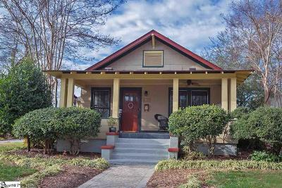 Greenville Single Family Home Contingency Contract: 212 W Prentiss
