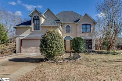Greenville County Single Family Home For Sale: 2 Rosebank