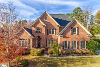 Greenville County Single Family Home For Sale: 212 Bentwater