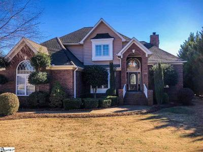 Spartanburg Single Family Home For Sale: 308 Rolling Meadow