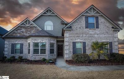 Greer Single Family Home For Sale: 375 Harkins Bluff