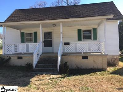 Greenville Single Family Home Contingency Contract: 19 Taylor