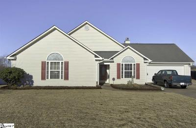 Boiling Springs Single Family Home For Sale: 483 Slate