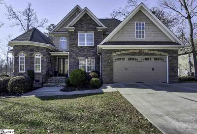 Fountain Inn Single Family Home Contingency Contract: 116 Crest Hill