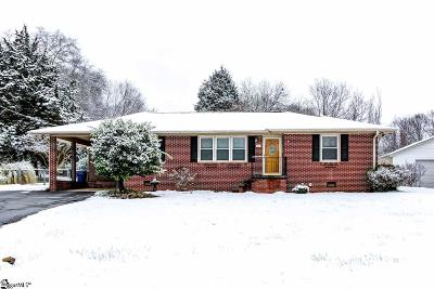 Simpsonville Single Family Home For Sale: 216 Florence