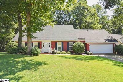 Greer Single Family Home For Sale: 125 Sugar Creek
