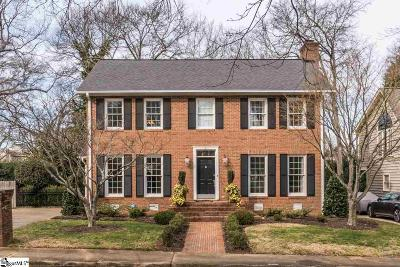 Greenville Single Family Home Contingency Contract: 21 Oak Crest