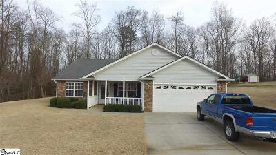 Spartanburg Single Family Home For Sale: 134 Old Indian