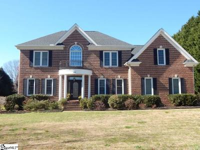 Greenville Single Family Home For Sale: 108 Churchill Downs