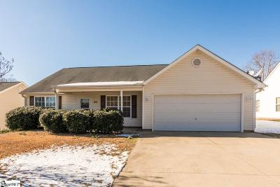 Piedmont Single Family Home Contingency Contract: 104 Pine Valley