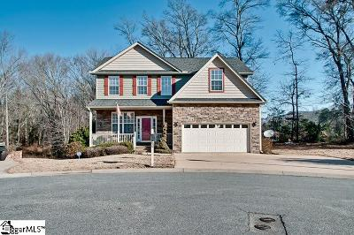 Greenville County Single Family Home For Sale: 405 Hampton Farms