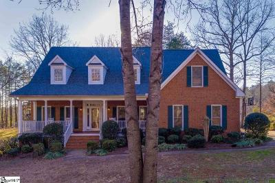 Greenville Single Family Home For Sale: 3410 State Park