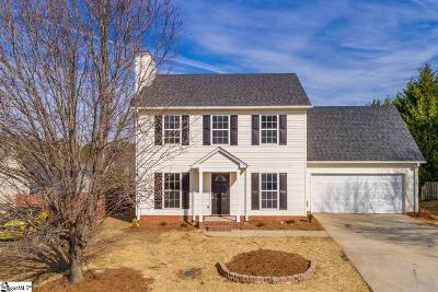 Greenville County Single Family Home For Sale: 140 Fawnbrook