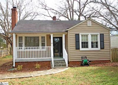 Greenville Single Family Home For Sale: 30 Sycamore