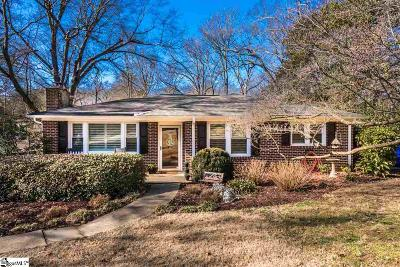 Greenville SC Single Family Home For Sale: $255,000