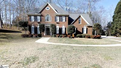 Greenville SC Single Family Home For Sale: $399,000