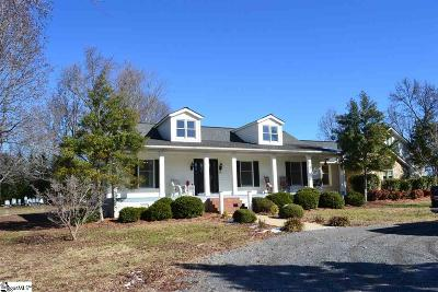 Simpsonville Single Family Home Contingency Contract: 108 Sand Hill
