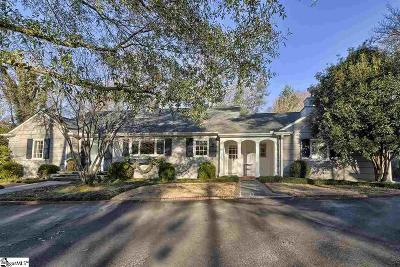 Easley Single Family Home Contingency Contract: 110 Mountain View