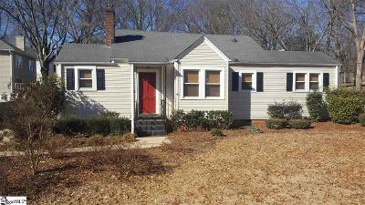 Greenville SC Single Family Home Contingency Contract: $265,000