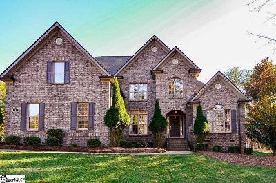 Spartanburg Single Family Home For Sale: 721 Black Wolf