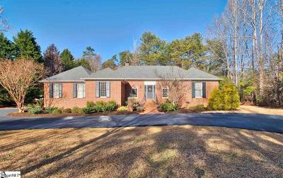 Spartanburg Single Family Home Contingency Contract: 307 Green Tree